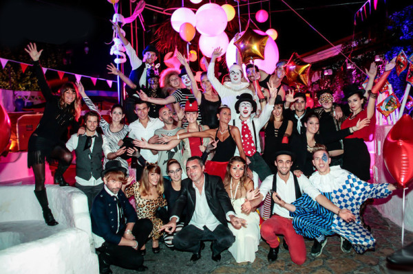 rancho st palais staf equipe le rancho nightclub bar de nuit discotheque saint palais royan